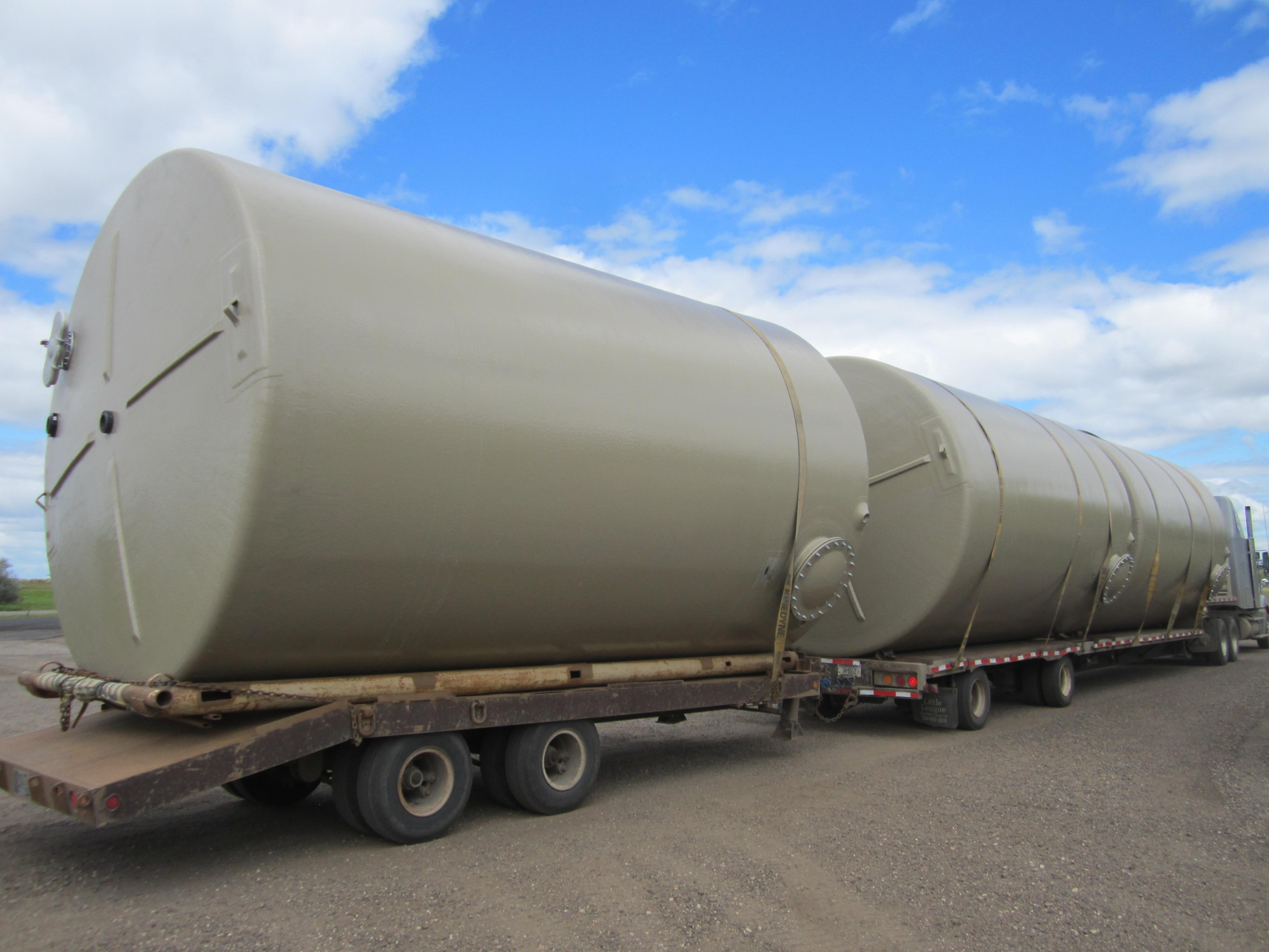 Climate, Inc  | Above Ground Fiberglass Potable Water Tank 12′ Diameter