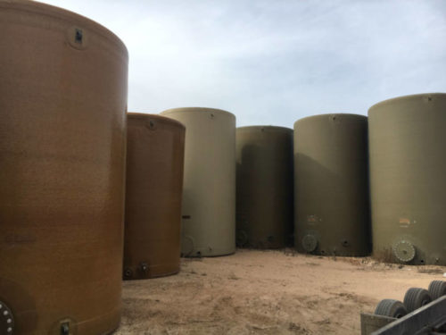 Climate Inc Above Ground Fiberglass Potable Water Tank