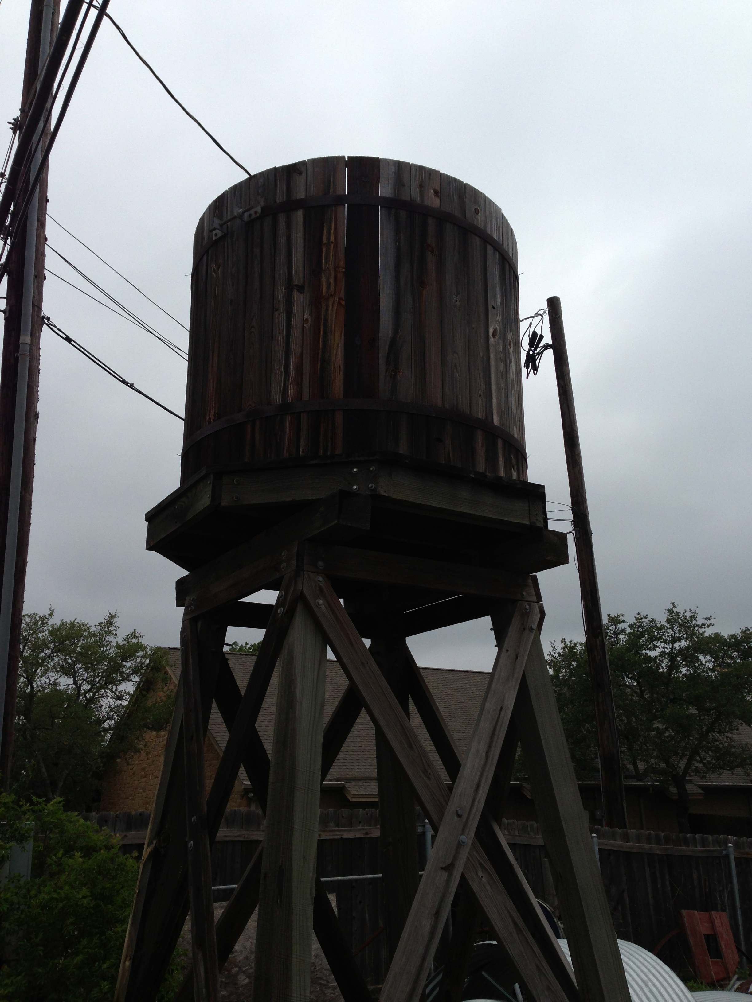 Climate, Inc  | Elevated Wood Water Tanks