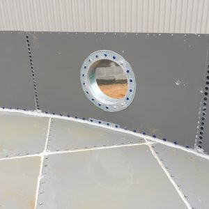 Steel Bolted Floors